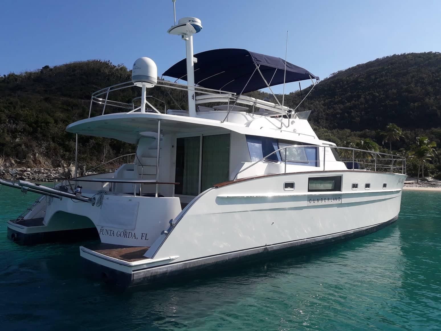 Jolie Blon | Virgin Charter Yachts